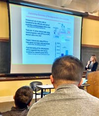 COURTESY OF ISABEL Thomas The Chemical and Biomolecular Engineering Seminar series hosted the discussion last week.