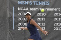 HOPKINSSPORTS.COM Anjali Kashyap advanced to the ITA finals for the second straight year.