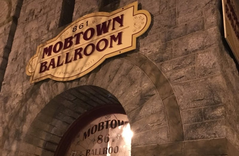 COURTESY OF EMMA SHANNON Mobtown Ballroom is a niche of Baltimore that Shannon frequents.