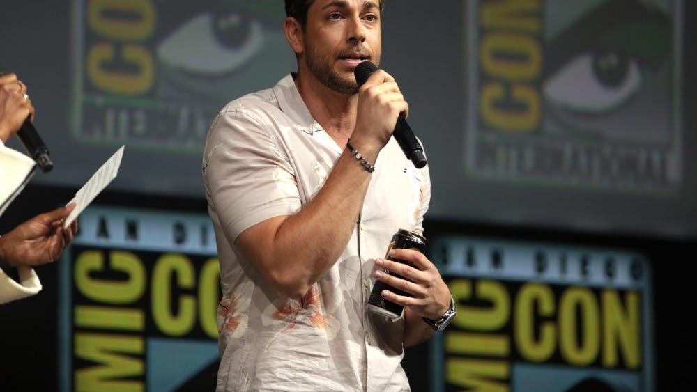 GAGE SKIDMORE/CC BY-SA 2.0 Zachary Levi plays Billy Batson, the kid-turned-adult-superhero in Shazam!