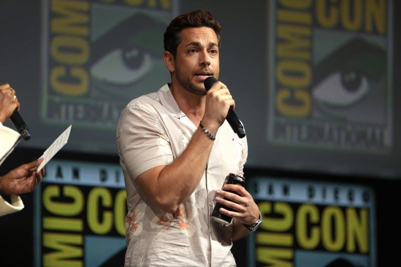GAGE SKIDMORE/CC BY-SA 2.0 Zachary Levi plays Billy Batson, the kid-turned-adult-superhero in Shazam!