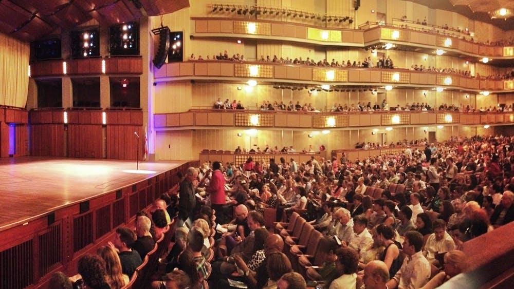 MATTHEW STRAUBMULLER/CC BY 2.0 The majestic Kennedy Center presented David Alden's Otello last weekend.