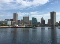 Famartin / CC BY-SA 4.0 Blue Water Baltimore focuses on cleaning up the Harbor and streams.