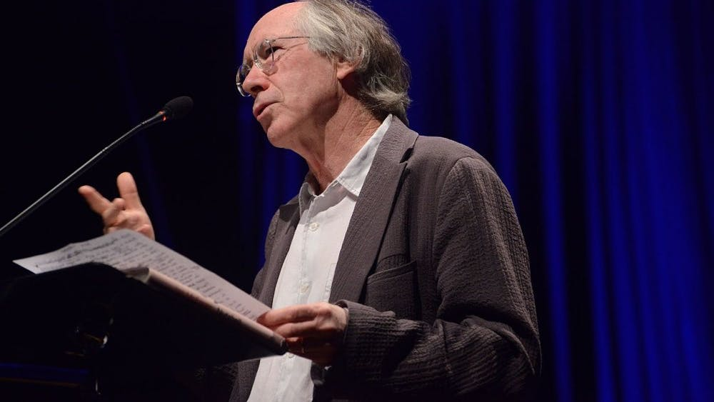 Courtesy of Luiz Munhoz/ CC BY-SA 2.0 Ian McEwan is the award-winning novelist behind The Children Act.