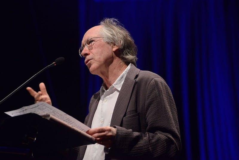 Courtesy of Luiz Munhoz/ CC BY-SA 2.0 Ian McEwan is the award-winning novelist behind The Children Act.