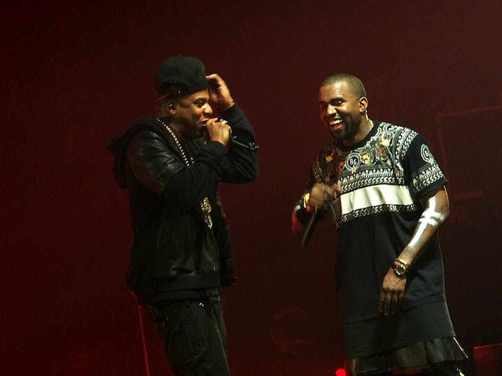 U2SOUL/CC BY-SA 2.0 Musicians Jay-Z and Kanye West end a years-long feud, reuniting on West's new album Donda.