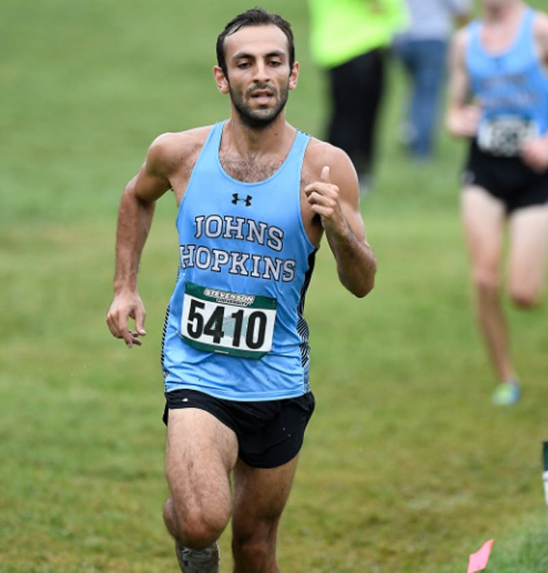 HOPKINSSPORTS.COM  Senior captain Scott Pourshalchi led the team and took second place at the Shannon Henretty Invitational.