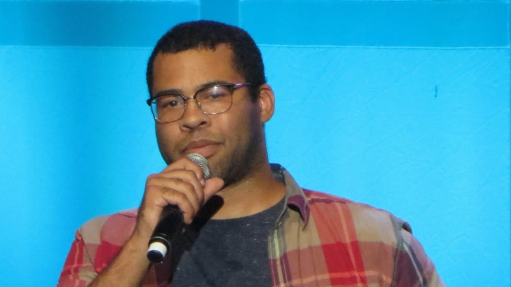 KEVIN EDWARDS/CC BY-S.A 2.0 Jordan Peele directs and stars as the narrator in new The Twilight Zone.