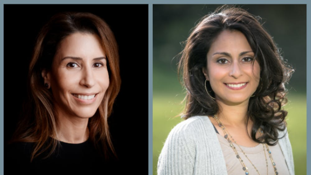 COURTESY OF LUCIANA BORIO AND CELINE GOUNDER Borio (left) and Gounder (right) are two of the Hopkins affiliates who have joined the transition team.