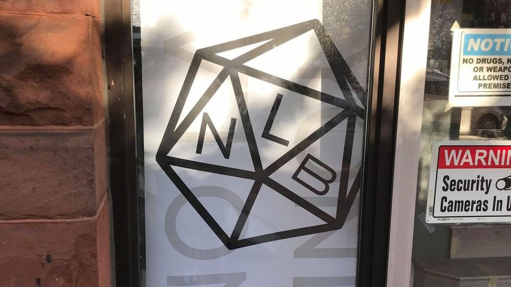 COURTESY OF BEN LEACH No Land Beyond, a new game store in Old Goucher, is set to open soon.