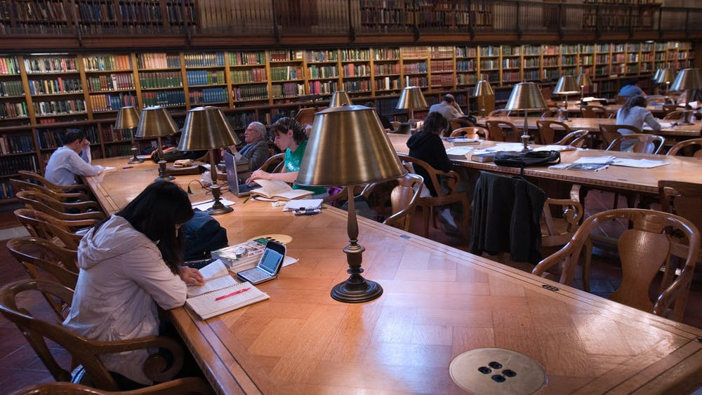 Jorge Royan / CC BY-SA 3.0 Li discusses the importance of libraries in her life.