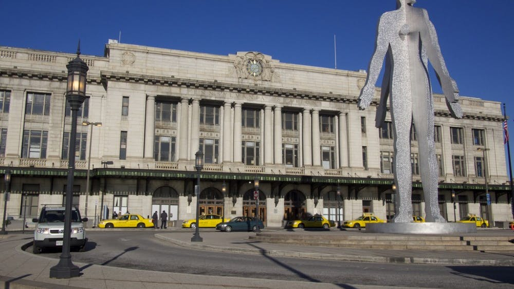 AUSTIN KIRK/CC BY-SA 2.0 Penn Station was built in 1911 and is Baltimore's central train station.