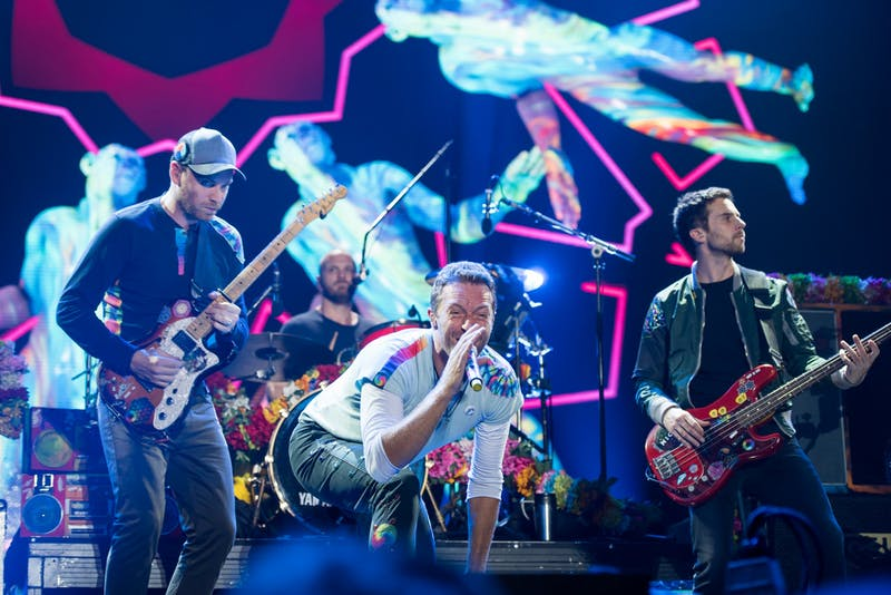 Frank Schwichtenberg/CC BY-S.A 4.0 Coldplay's decision to not promote their new album on tour was a surprise.