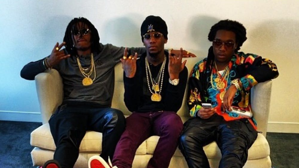 XLilM 25x/CC BY-SA 3.0 Migos pursue a mix between their usual party rap style and tinges of reflection on the past year's events.
