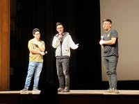 COURTESY OF RIA ARORA Members of Wong Fu productions spoke about how Asian representation in film has improved.