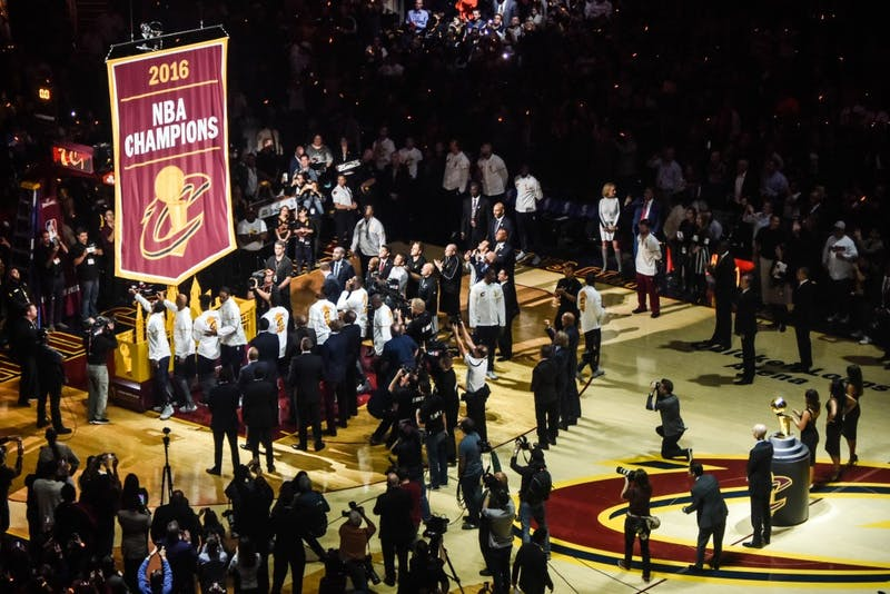 ERIK DROST/CC BY 2.0 Tyronn Lue brought Cleveland their first championship in over 50 years.