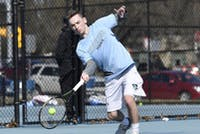 HOPKINSSPORTS.COM Freshman Robby Simon helped Hopkins beat Gettysburg.
