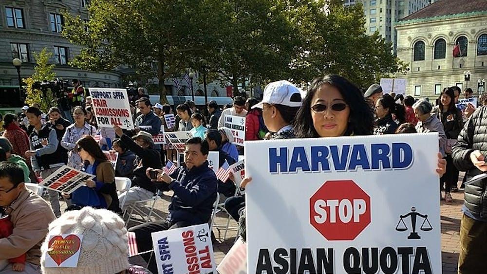 WHOISJOHNGALT / CC BY-SA 4.0  Opponents of affirmative action argue that it discriminates against Asian-Americans.