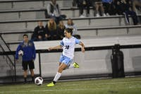 HOPKINSSPORTS.COM Michelle Santangelo scored a hat trick in the Jays' 4-1 win on Saturday.
