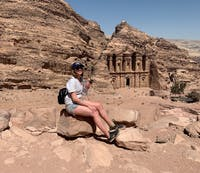 COURTESY OF GABI SWISTARA Swistara's trip to Jordan was one of her most memorable journeys abroad.