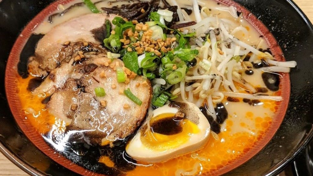 COURTESY OF AUBIN LOHIER Ramen Utsuke is the best bang for your buck noodle spot in town.