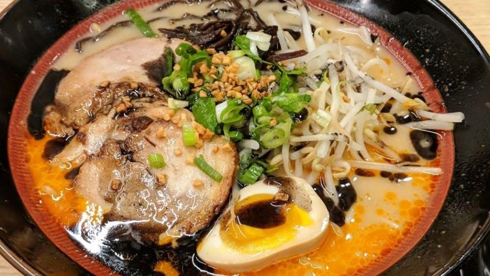 COURTESY OF AUBIN LOHIER Ramen Utsuke is the best bang for your buck noodle spot in town.