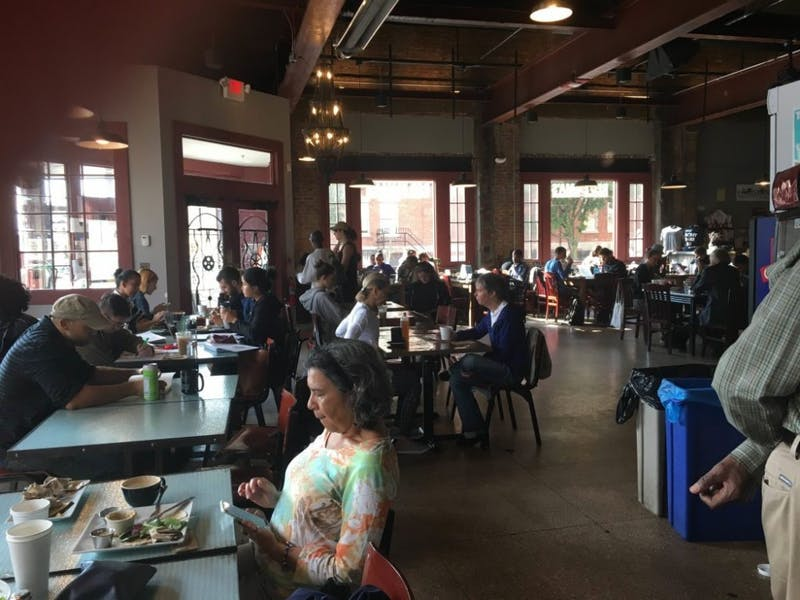 courtesy of jisoo bae Red Emma's, which is located on North Avenue, welcomes a diverse crowd of Baltimore patrons.