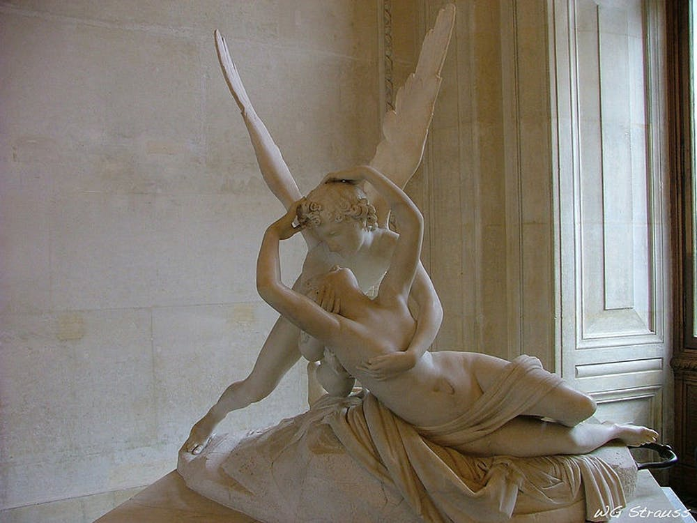 Will46and2 / CC BY-SA 3.0  Li shares her favorite Greek myths, including the one of Eros and Psyche.