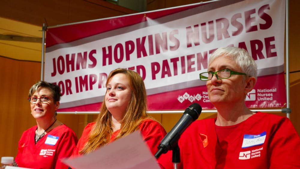 Panelists discussed issues such as understaffing and turnover COURTESY OF NATIONAL NURSES UNITED