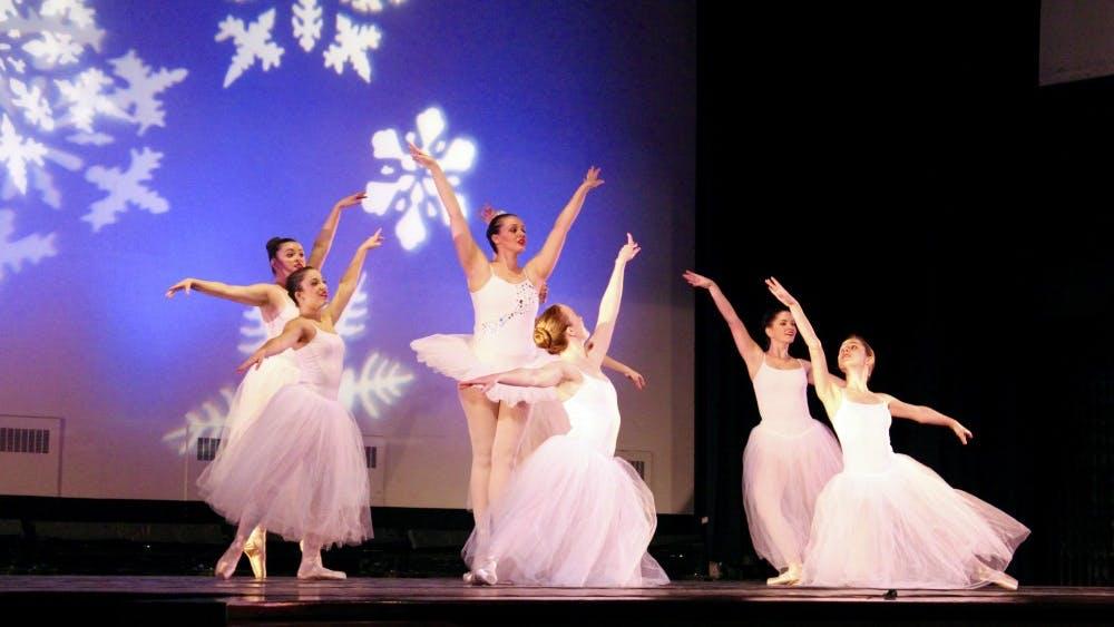 IVANA SU/PHOTOGRAPHY EDITOR The JHU Classical Ballet Company performed The Nutcracker Nov. 14.
