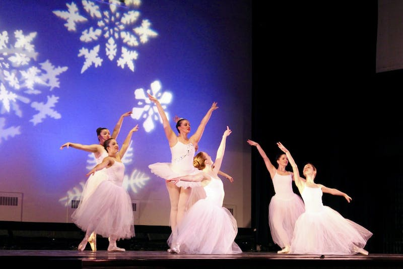 IVANA SU/PHOTOGRAPHY EDITOR The JHU Classical Ballet Company performed The Nutcracker Nov. 14.