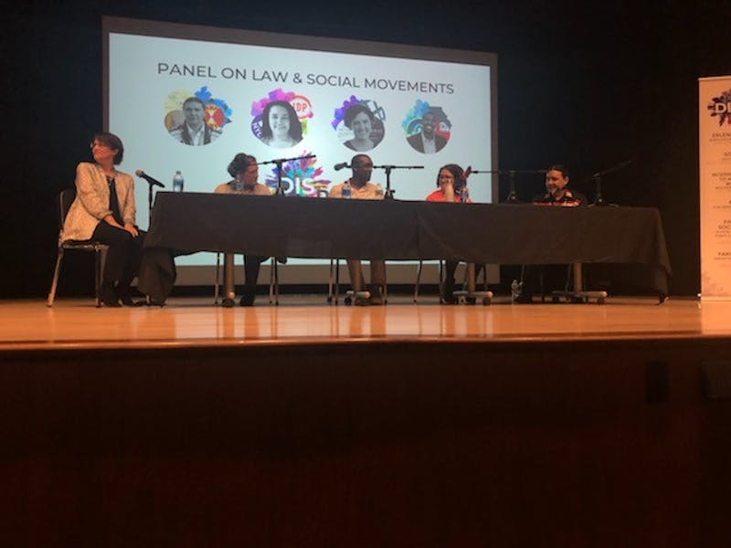 """The Foreign Affairs Symposium (FAS) brought social activists to campus as part of the 2019 theme """"Disrupt"""""""