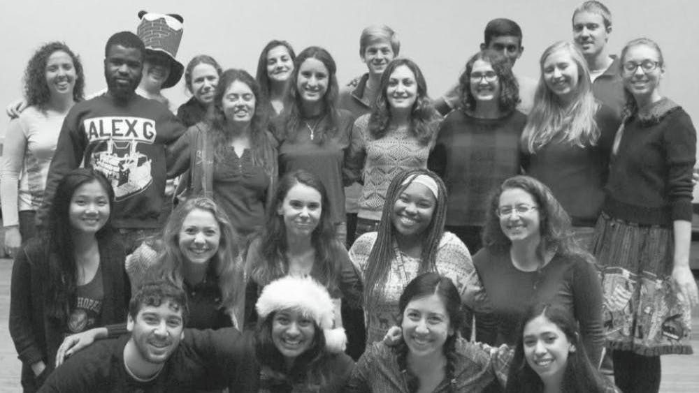 FILE PHOTO News-Letter editors pose for a holiday photo in 2015.