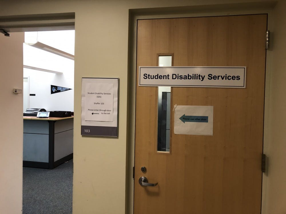 FILE PHOTO Changes at Student Disability Services have placed an undue burden on the students they serve.