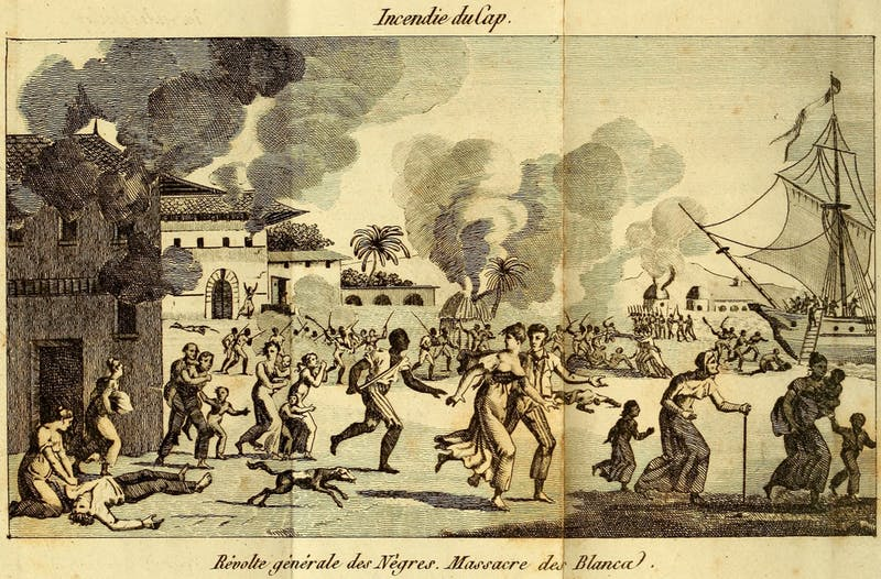 PUBLIC DOMAIN The Haitian Revolution sparked subsequent increases in the price of sugar.