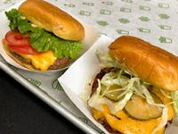 Lou Stejskal / CC BY 2.0  Shake Shack is one of two burger chains to pass an antibiotic test.