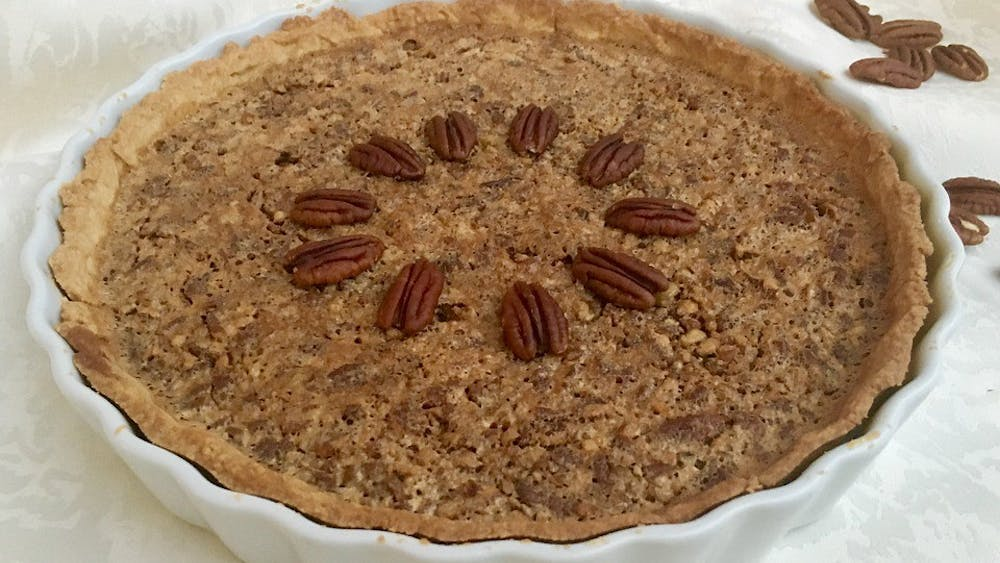 SEPARATUS/CC0 CREATIVE COMMONS Pecan pie is one of Wooden's favorite dishes during the fall season.