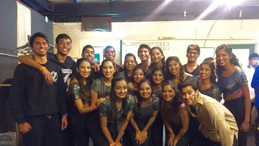 COURTESY OF Jillika patel Zinda recently competed at Dhamaal, a competition in Detroit that included eight different groups.