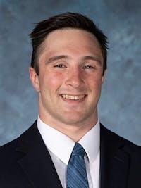 HOPKINSSPORTS.COM Junior defensive end Mike Kalanik.
