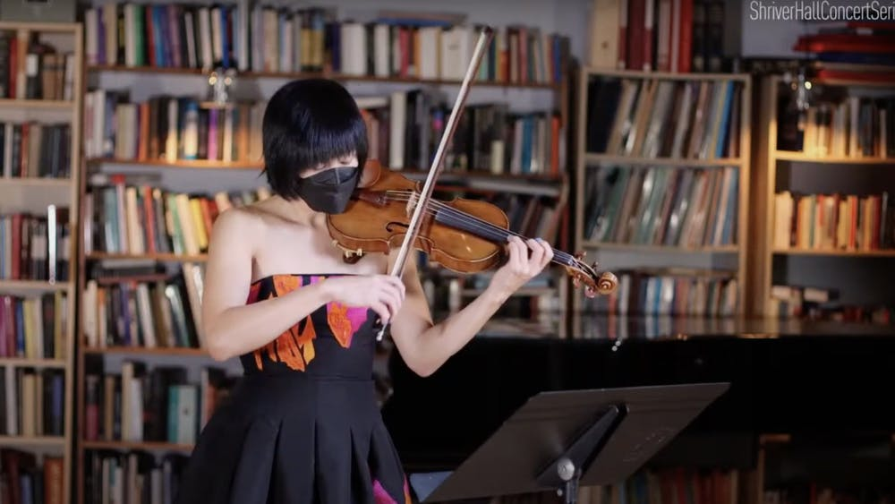 COURTESY OF SARAH JUNG Jennifer Koh performs her project Alone Together and two pieces written by J.S. Bach.