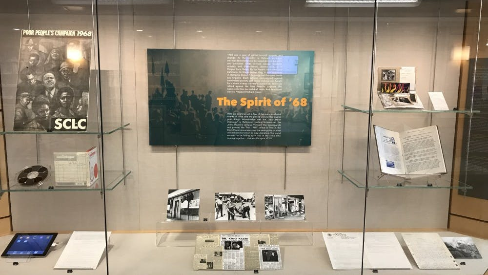 COURTESY OF DRAKE FOREMAN Spirit of '68 showcased activist movements in Baltimore from 1968.