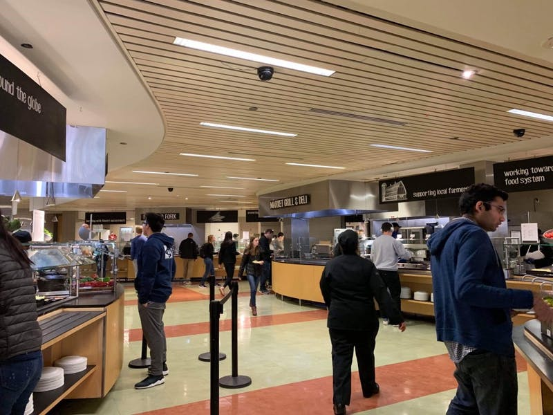 COURTESY OF ARPAN SAHOO Hopkins dining announced that there will be more food options over breaks.