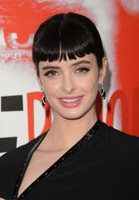 KYLELUKERr/cc-by-SA 2.0 Krysten Ritter portrays the title character in this new Marvel series.