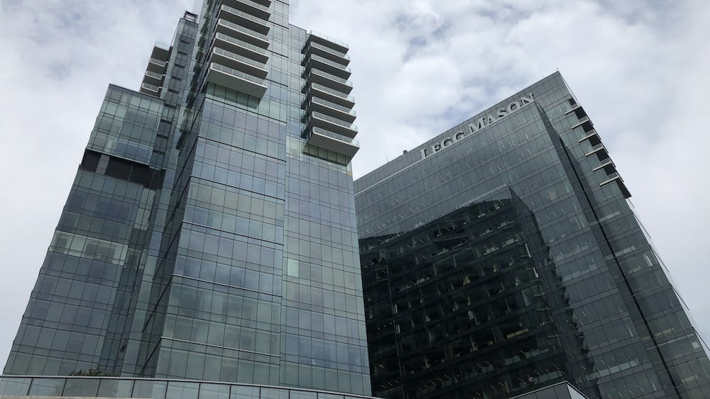 The Johns Hopkins Carey School of Business is located in Harbor East.