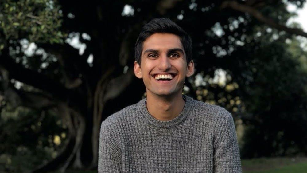 COURTESY OF NIHAAL RAHMAN Rahman aims to become a pediatrician.