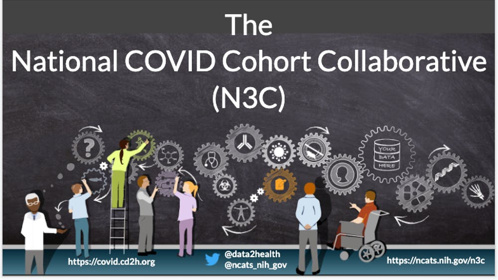 COURTESY OF ESTELLE YEUNG The National COVID Cohort Collaborative Data Enclave will allow researchers to answer critical questions about the pandemic.