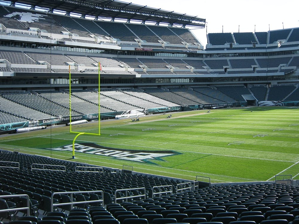 BETP // CC BY-SA 3.0 The Philadelphia Eagles are currently in first place in their division with a record of 2-4-1.