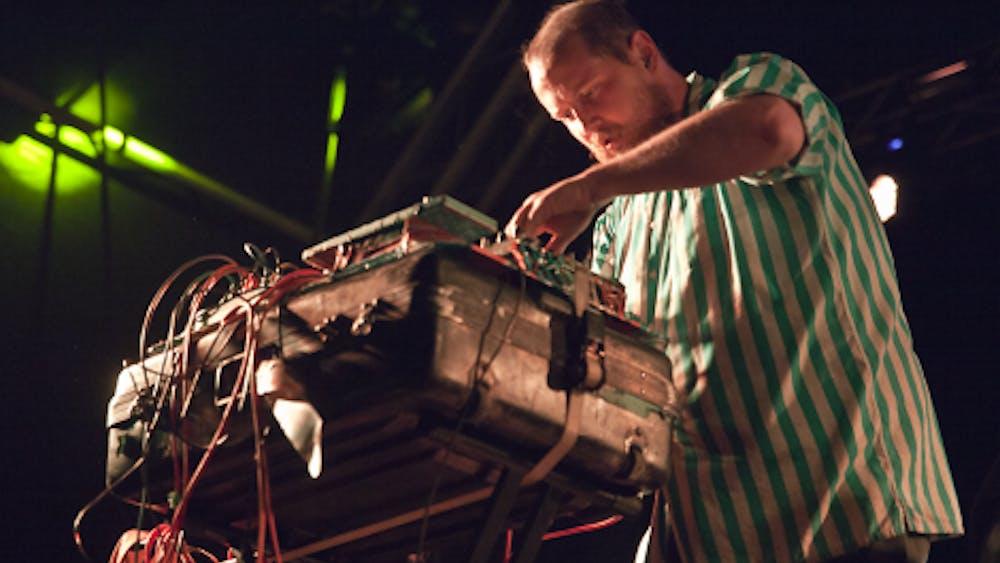 COURTESY OF SCANNERFM VIA FLICKR Baltimore artist Dan Deacon headlined this year's Windjammer festival.