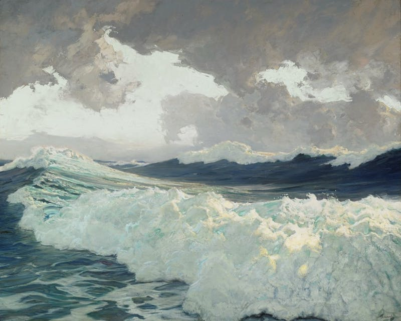 PUBLIC DOMAIN The Ocean by Frederick Judd Waugh