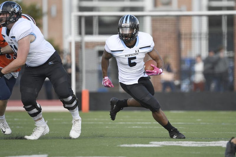 HOPKINSSPORTS.COM Senior running back Stuart Walters was named Centennial Conference Offensive Player of the Week.